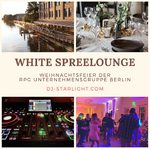 Firmenevent in der WHITE Spreelounge Berlin